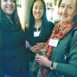 Angela Sanders, Helen Chu and Sue Everson