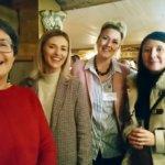 Penny Brierley Lian Fleetwood, Jessica Hannaford and Emma Dicker